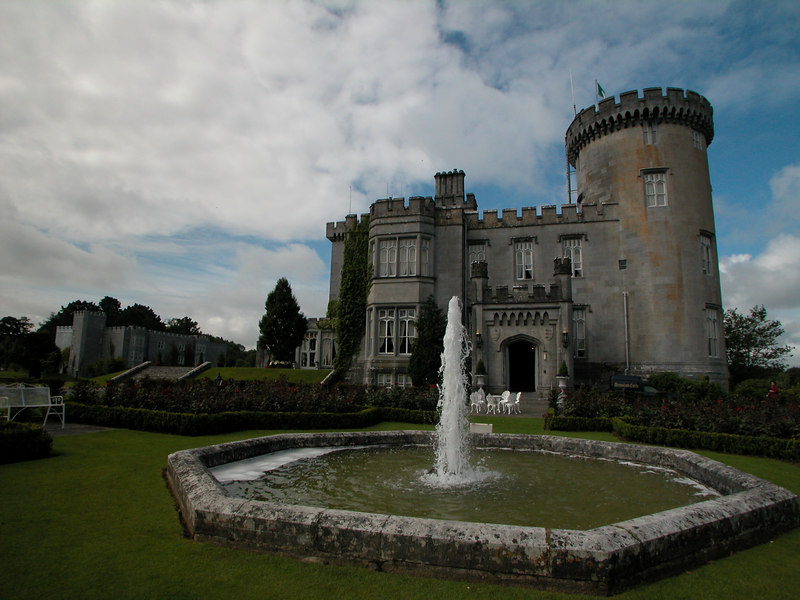 Dromoland Castle (2006).  Newmarket-on-Fergus, Co. Clare, Ireland.