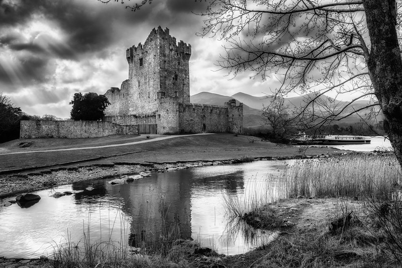 Ross castle, Killarney, Kerry