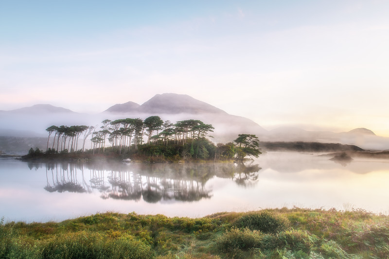 The mists of dawn at Derryclare