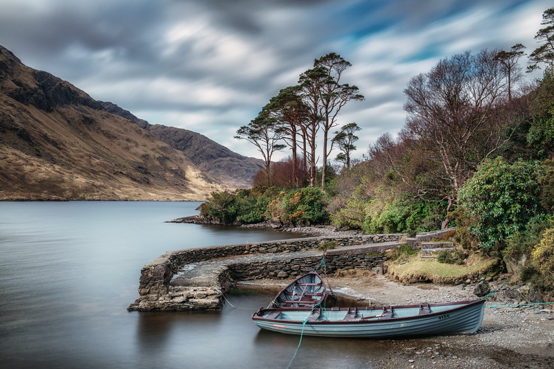 The small harbour@Doolough