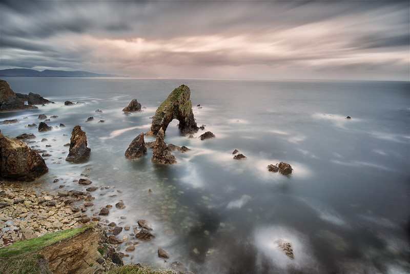 Sea arch, Crohy
