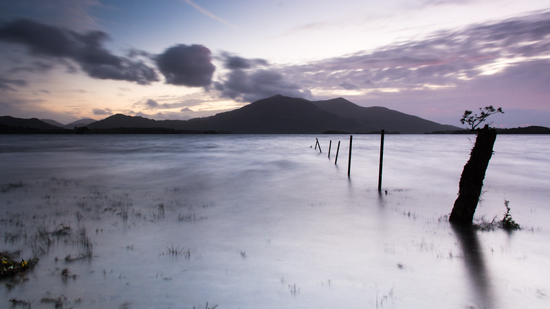 Purple Mountain sunset #Kerry