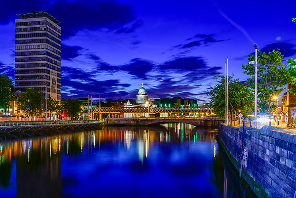 Dublin in the Liffey