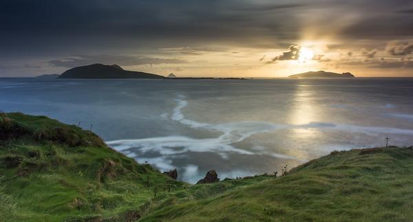 Blasket Islands sunset