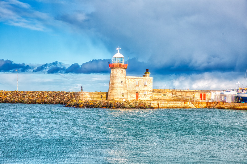 Kish Bank Lighthouse - Howth