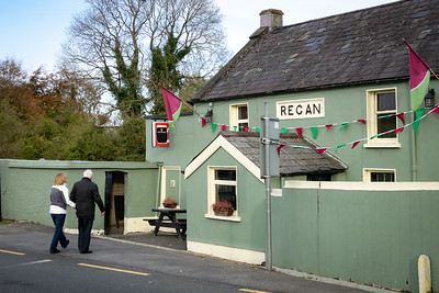 Regan's Pub for our first official pint of Guinness.  On the River Boyne, Trim, Co. Meath, Ireland.