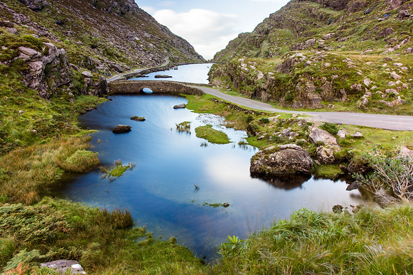 Black Lough in the Gap of #Dunloe, #Kerry #Ireland