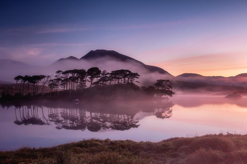 Sunrise at Derryclare