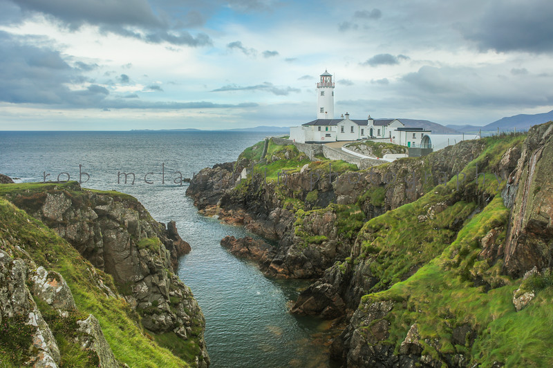 Fanad Head Lighthouse , Fanad Peninsula , Ireland