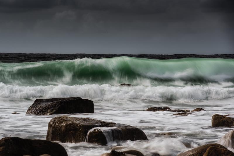 Wave action, Cnoc Fola