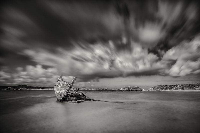 Beached and broken, Cara na Mara, Magheraclogher