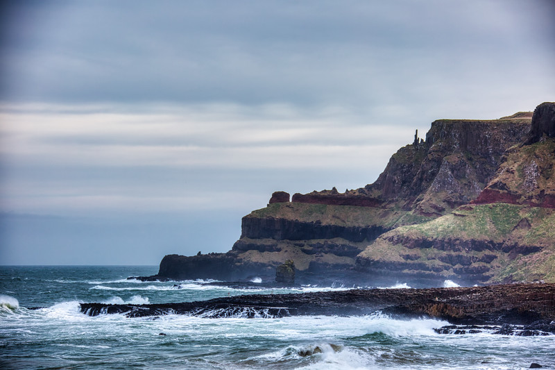 The Chimney Stacks - Giant's Causeway