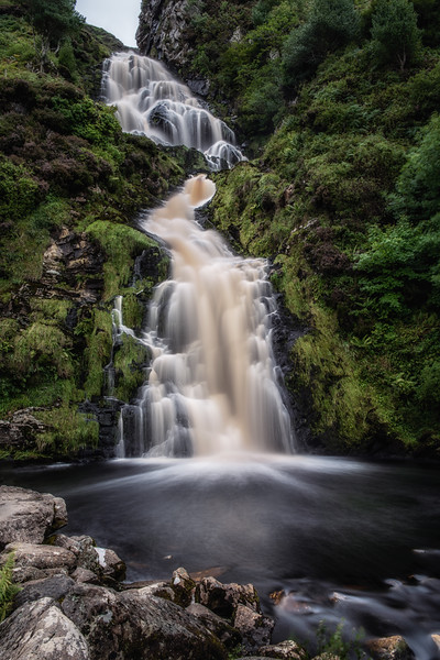 The falls at Assaranca