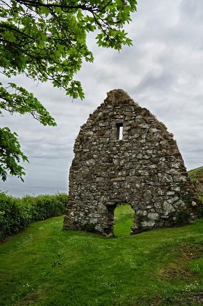 Ruins of St. Declan's retreat, Ardmore, Ireland