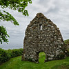 Ruins of St. Declan's retreat, Ardmore, Ireland