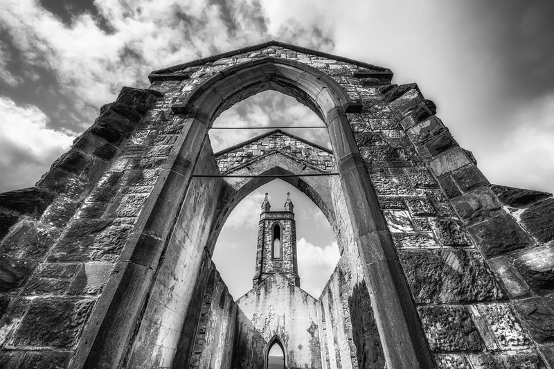 Dunlewy abandoned church, Donegal