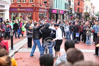 Grafton Street Performers