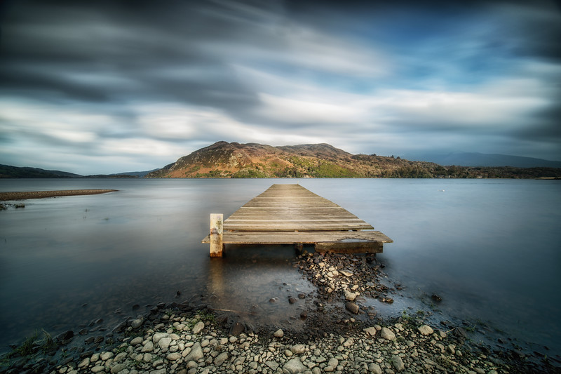 An old jetty, Caragh Lake, Kerry
