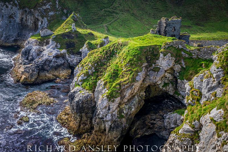 Kinbane Castle-Ireland