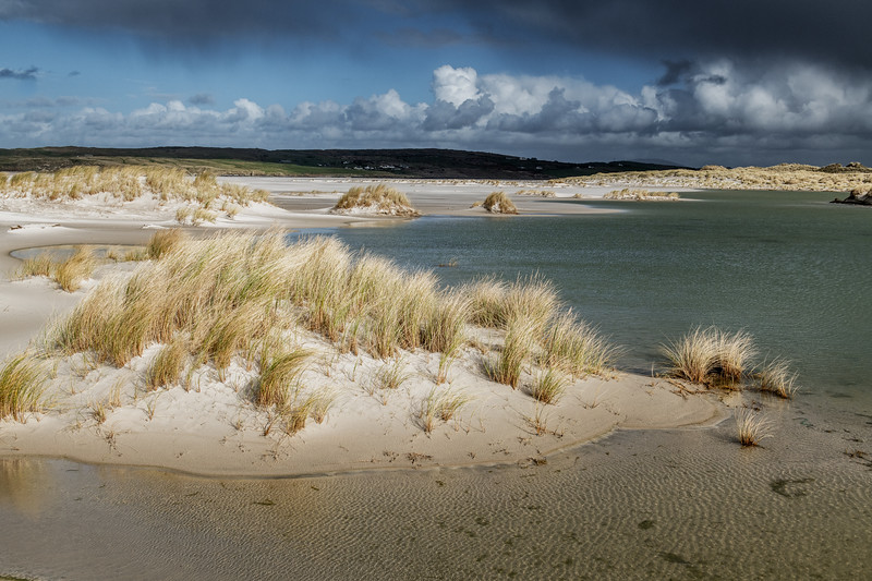 Dunes and backwaters at Maghery