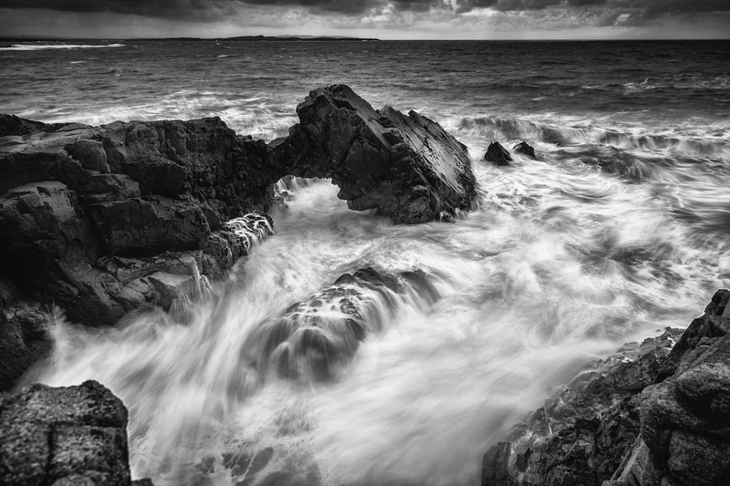 Wave power, Bloody foreland