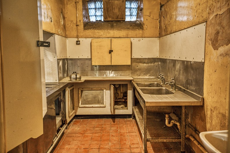 Crumlin Road Goal - Kitchen