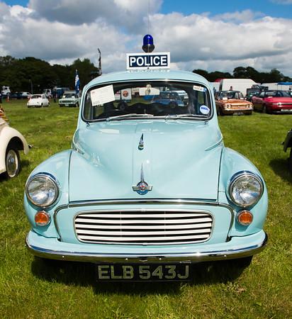 1970 Morris Minor Police Car