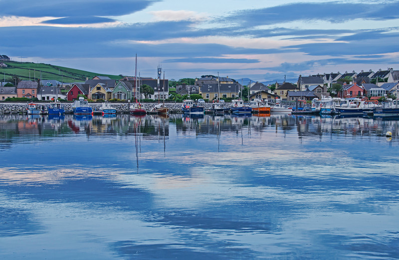 """""""Harbor at Dusk"""" - Dingle, Ireland"""