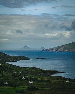 View From the Ring of Kerry Across to the Skellig Islands