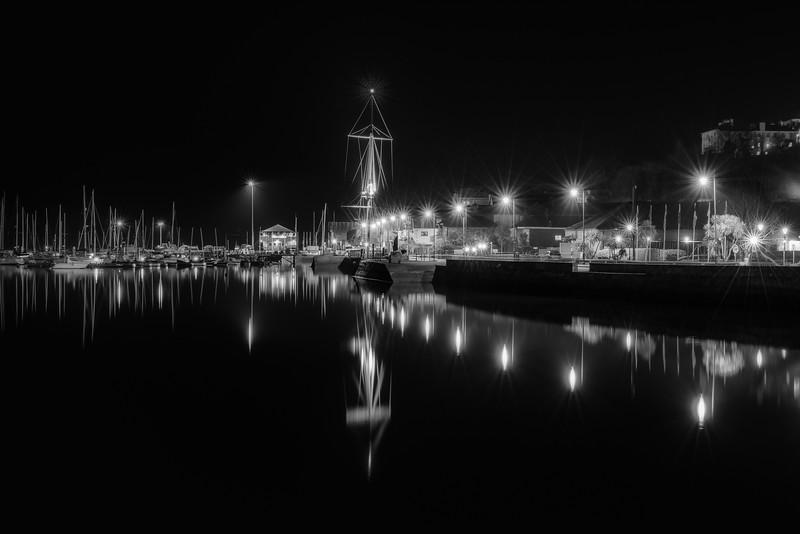 Night in Kinsale harbour