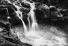Falls and tide, Dunseverick