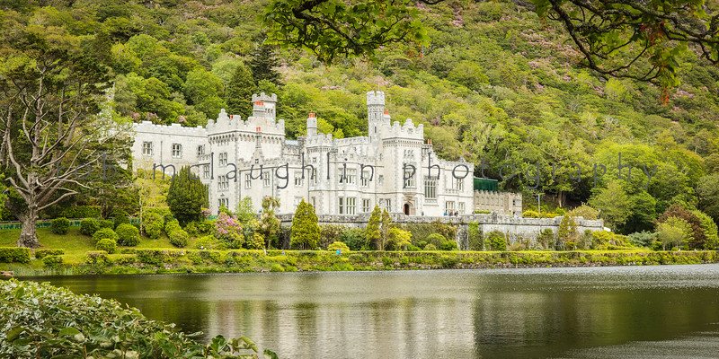 Kylemore Abbey , County Galway , Ireland