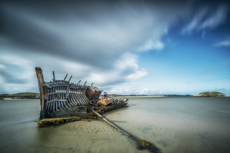 Abandoned, beached and broken