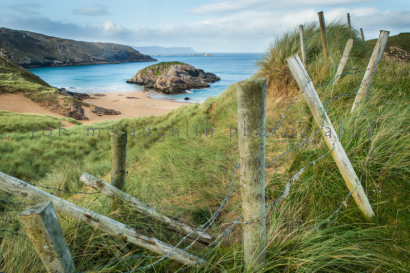 Entrance to Murder Hole Beach , Melmore , Ireland