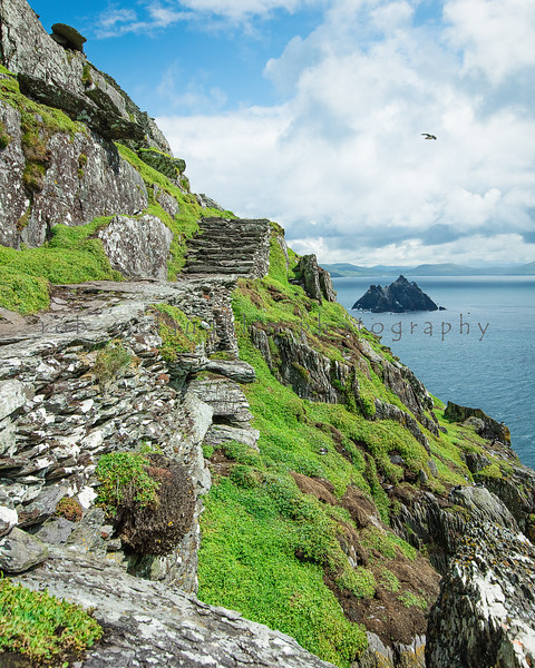 The Two Skelligs, Skellig Michael, Ireland