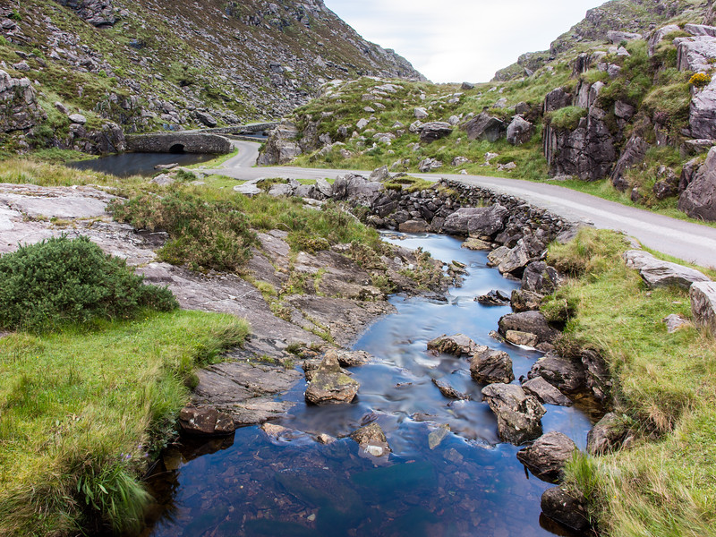 Black Lough in #Kerry's Gap of #Dunloe