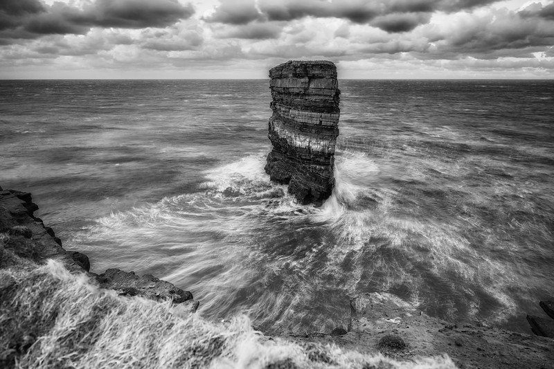 The remnant - Dun Briste, Mayo