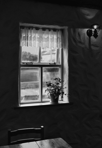 """""""View From a Lonely Room"""" (or """"Inishmore Window"""")"""