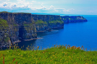 Cliffs of Moher (over 700 feet high)