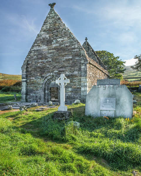 Kilmakedar Church , Dingle Peninsula , Ireland