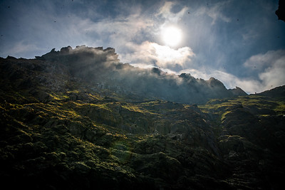 Clouds Over Skellig Michael
