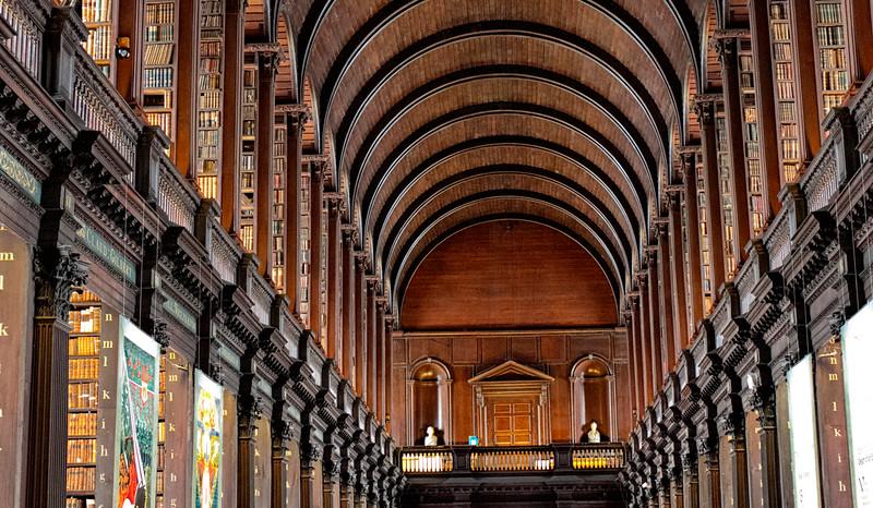 Ιρλανδία. Το Κολέγιο της Αγίας και Αδιαιρέτου Τριάδος του Δουβλίνου