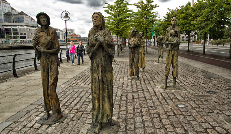 Ιρλανδία. Το Μνημείο του Μεγάλου Λιμού