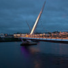 The Peace Bridge between Derry and Londonderry