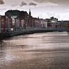 Dublin - Walking Bridge (photo altered)
