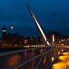 Dublin - Peace Bridge between Derry and Londonderry