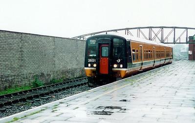 2601 at Cobh on 8th May 1999
