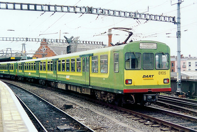 8105 at Dublin Connolly on 4th July 2003