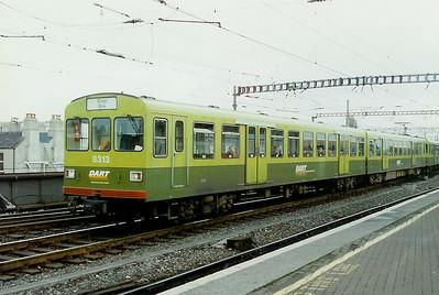 8313 at Dublin Connolly on 21st February 1997