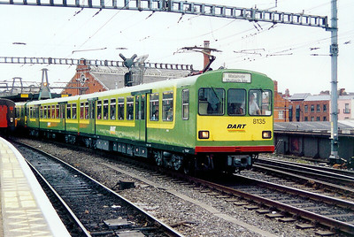 8135 at Dublin Connolly on 4th July 2003